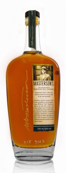 Masterson's 10 Years Old Straight Rye