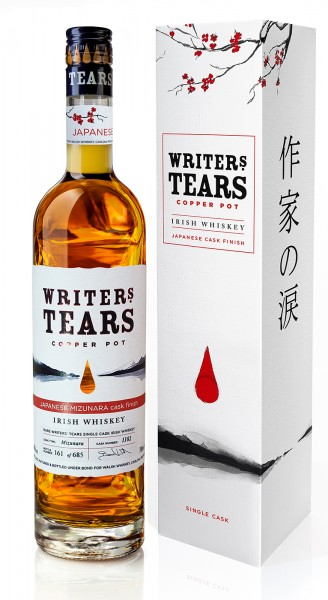 Writers Tears Whiskey Japanese Mizunara Cask Finish