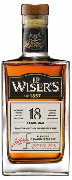 J.P. Wiser's 18 Jahre