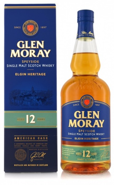 Glen Moray 12 Jahre Elgin Heritage Collection