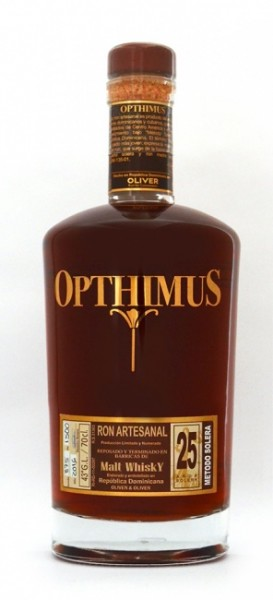 """Opthimus """"Resposado en Barricas de Malt Whisky"""" 25 Jahre"""