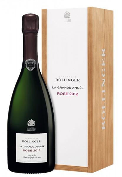 Bollinger Champagne La Grande Année Rosé GP 2012