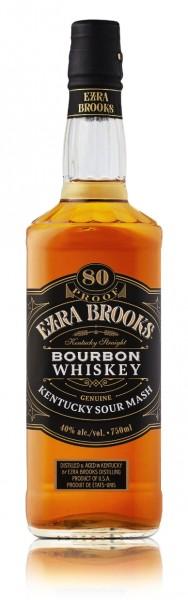 Ezra Brooks Kentucky Straight Bourbon Whisky Black Label