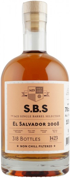 S.B.S. Rum El Salvador 2008