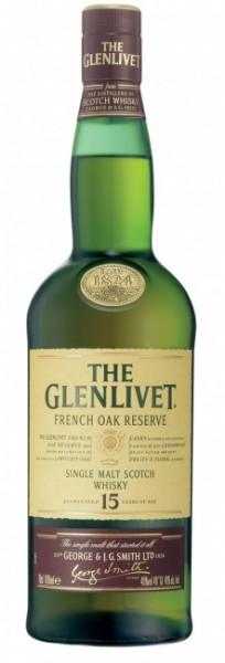 Glenlivet 15 Jahre French Oak Finish