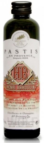 Pastis Henri Bardouin kleine Flasche