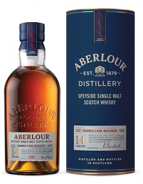 Aberlour Single Malt Whisky 14 Jahre Double Oak