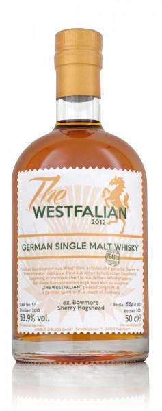 The Westfalian Single Malt peated Whisky Cask 57