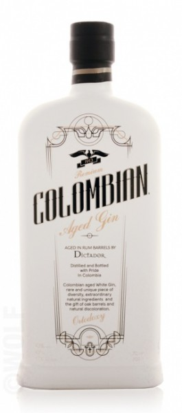 """Dictador Colombian Aged Gin """"Ortodoxy"""""""