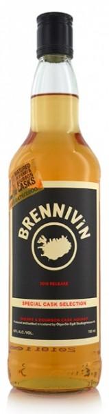 Brennivin Sherry & Bourbon Cask Aquavit 2018