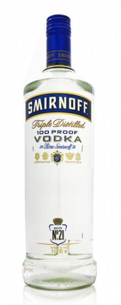 Smirnoff Blue Label 100 Proof Vodka