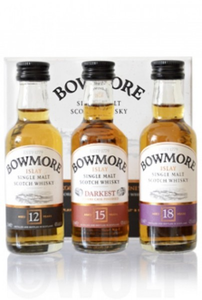 Bowmore Mini-Collection