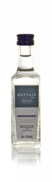 Mayfair London Dry Gin Miniatur