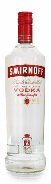 Smirnoff No. 21 Red Label