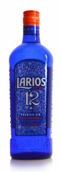 Larios 12 Botanicals Premium Gin Mediterránea