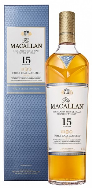 The Macallan Triple Cask 15 Jahre