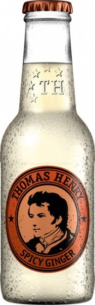 Thomas Henry Spicy Ginger Lemonade Einzelflasche