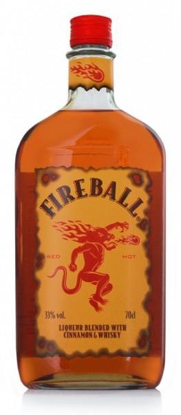 Fireball - Whiskeylikör mit Zimt