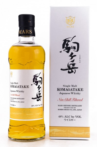 Mars Single Malt Komagatake Ltd. Edition 2018