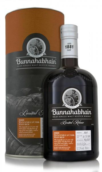 Bunnahabhain Single Malt Whisky Manzanilla Limited Release