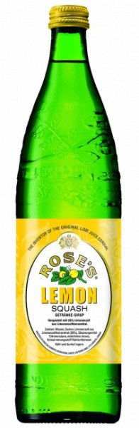 Rose's Lemon Squash