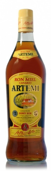 Ron Miel Canario Artemi Honey Rum