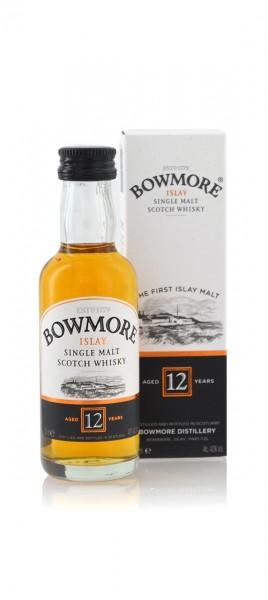 Bowmore 12 Jahre Miniatur