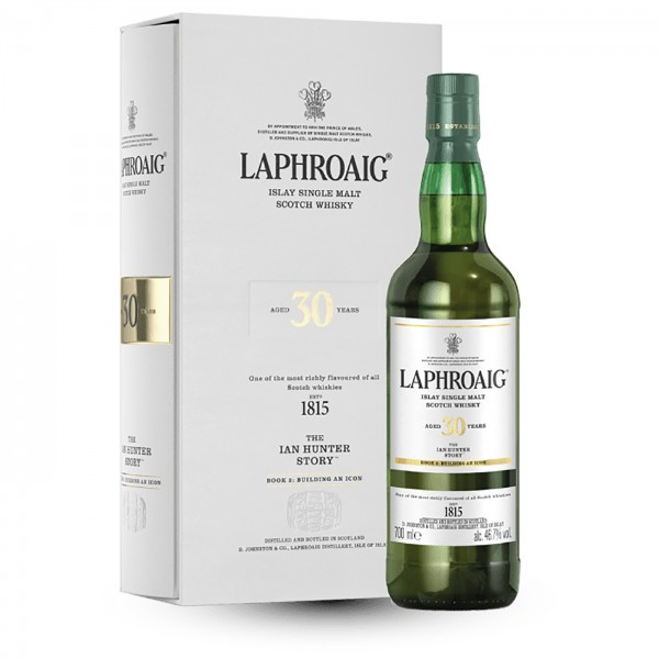 Laphroaig 30 Jahre Ian Hunter Story 2020 Part II