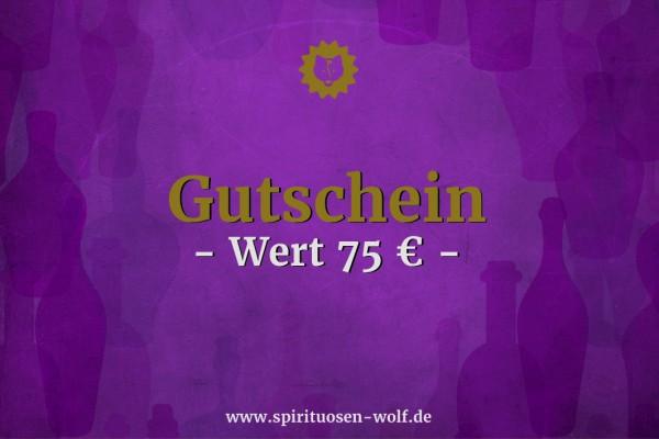 Geschenkgutschein 75 EUR