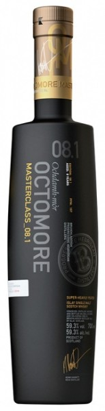 Bruichladdich Octomore 08.1 100% Islay Barly