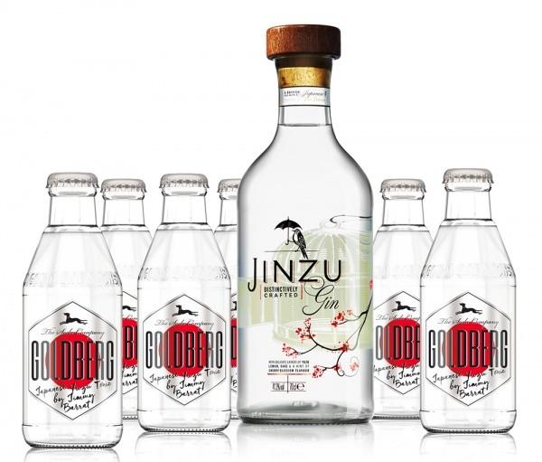 Jinzu Gin & Goldberg Japanese Yuzu Tonic Paket