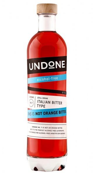 Undone No 7 Italian Bitter Type