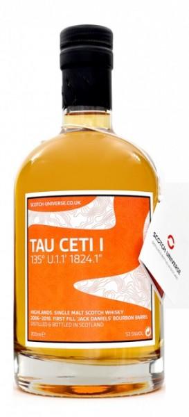 """Scotch Universe Tau Ceti I 135° U.1.1' 1824.1"""""""