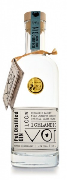 VOR 100% Icelandic Pot Distilled Gin