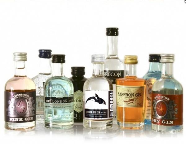 Gin-Mini-Tasting Set