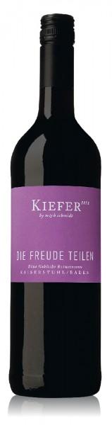 """Weingut Kiefer """"Die Freude teilen"""" eine liebliche Rotweincuvée"""
