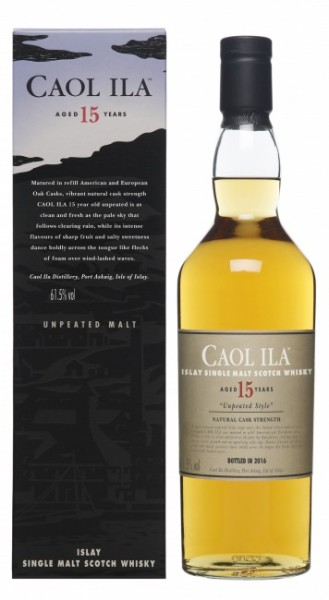 Caol Ila 15 Jahre Unpeated Cask Strength