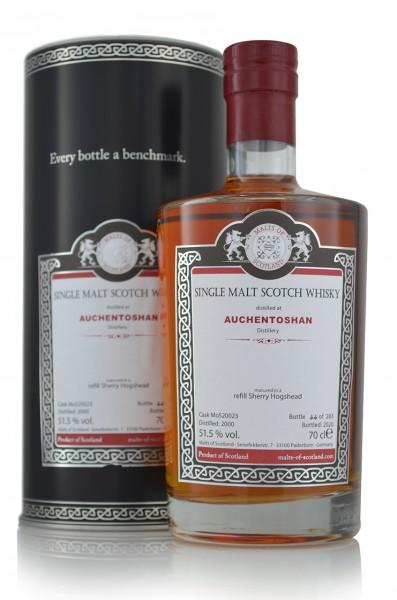 Auchentoshan 2000 Single Malt Whisky Malt of Scotland