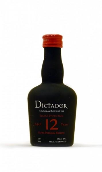Dictador Solera 12 Jahre Miniatur