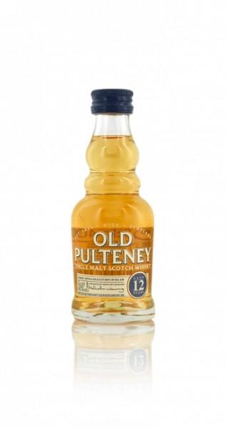 Old Pulteney 12 Jahre Miniatur
