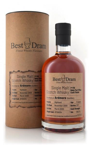 Ardmore Best Dram Single Malt Whisky