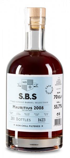S.B.S Rum Mauritius 2008 Port Cask