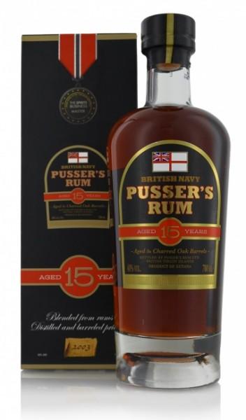 Pusser's British Navy Rum 15 Jahre