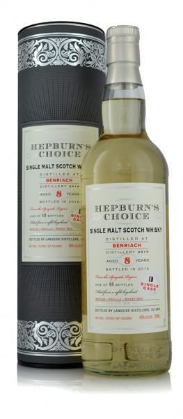 Benriach 2010 Hepburn's Choice by Hunter Laing