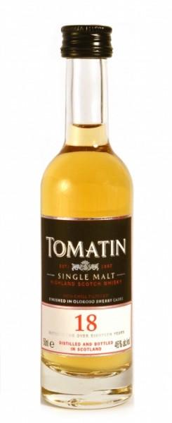 Tomatin Single Malt 18 Jahre Miniatur