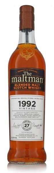 Meadowside Blending The Maltman 1992 Vintage Blended Malt Scotch