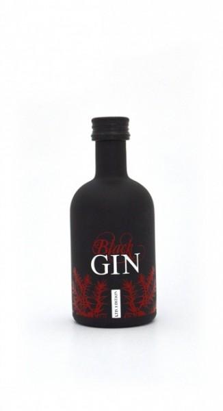 Gansloser's Black Gin Limited Edition Miniatur