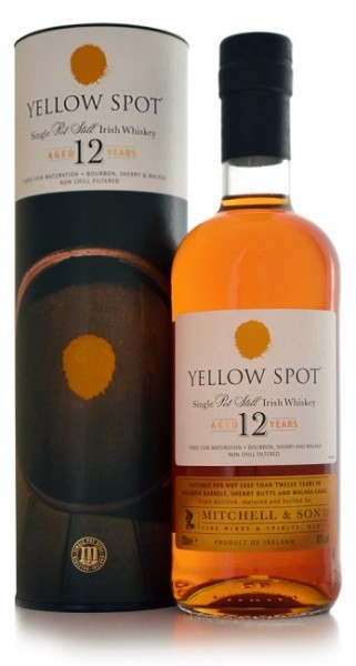 Yellow Spot Single Pot Still Irish Whiskey 12 Jahre