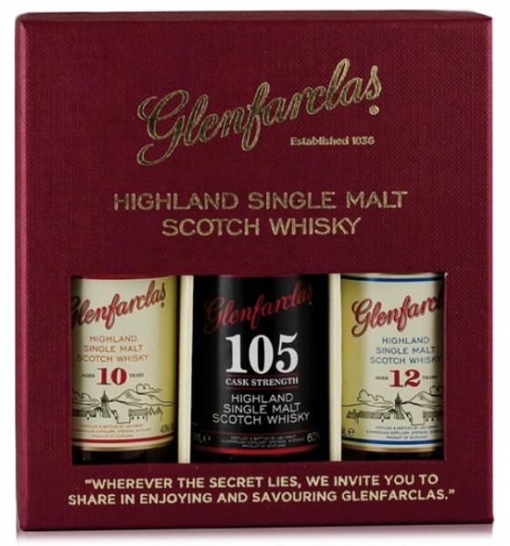Glenfarclas Tasting Set 10/105/12