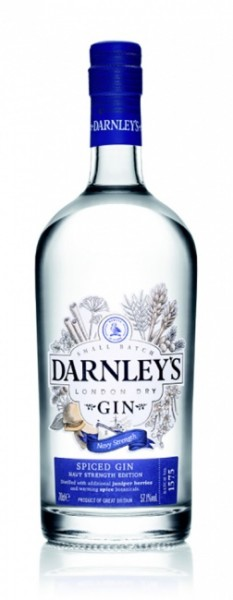 Darnley's London Dry Spiced Gin Navy Strength